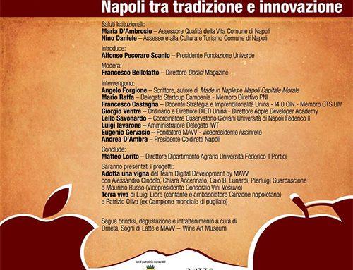 Apple è Annurca: Napoli tra Tradizione ed Innovazione