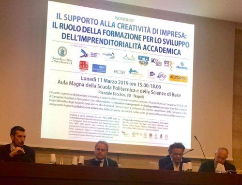 È partita Start Cup Campania 2019. Crescono le nuove imprese innovative che danno buona occupazione ai giovani laureati.