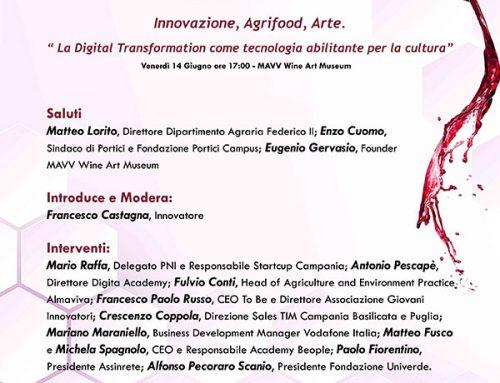 Innovazione, agrifood, arte al MAVV di Portici