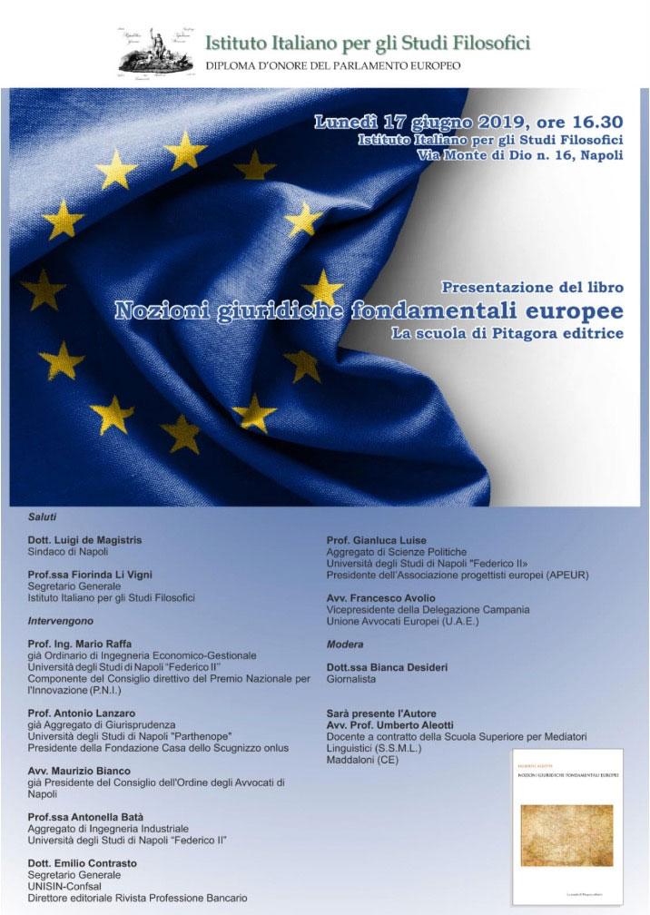 nozioni giuridiche fondamentali europee umberto aleotti