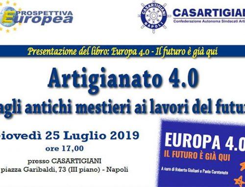 Continua il tour di presentazione del libro Europa 4.0