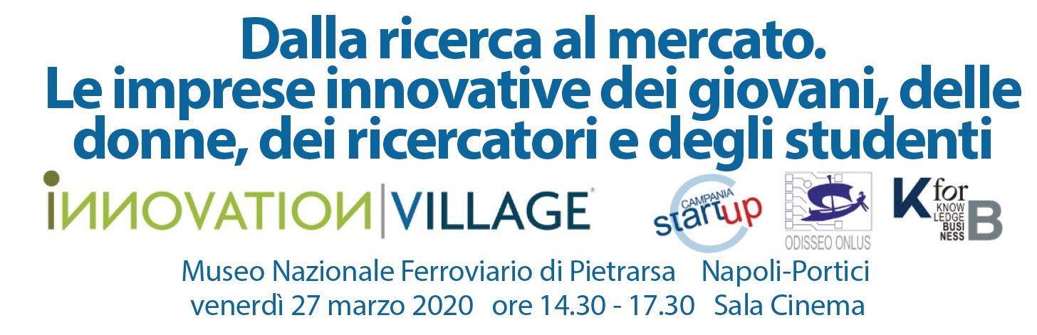 innovation village 2020 ricerca mercato