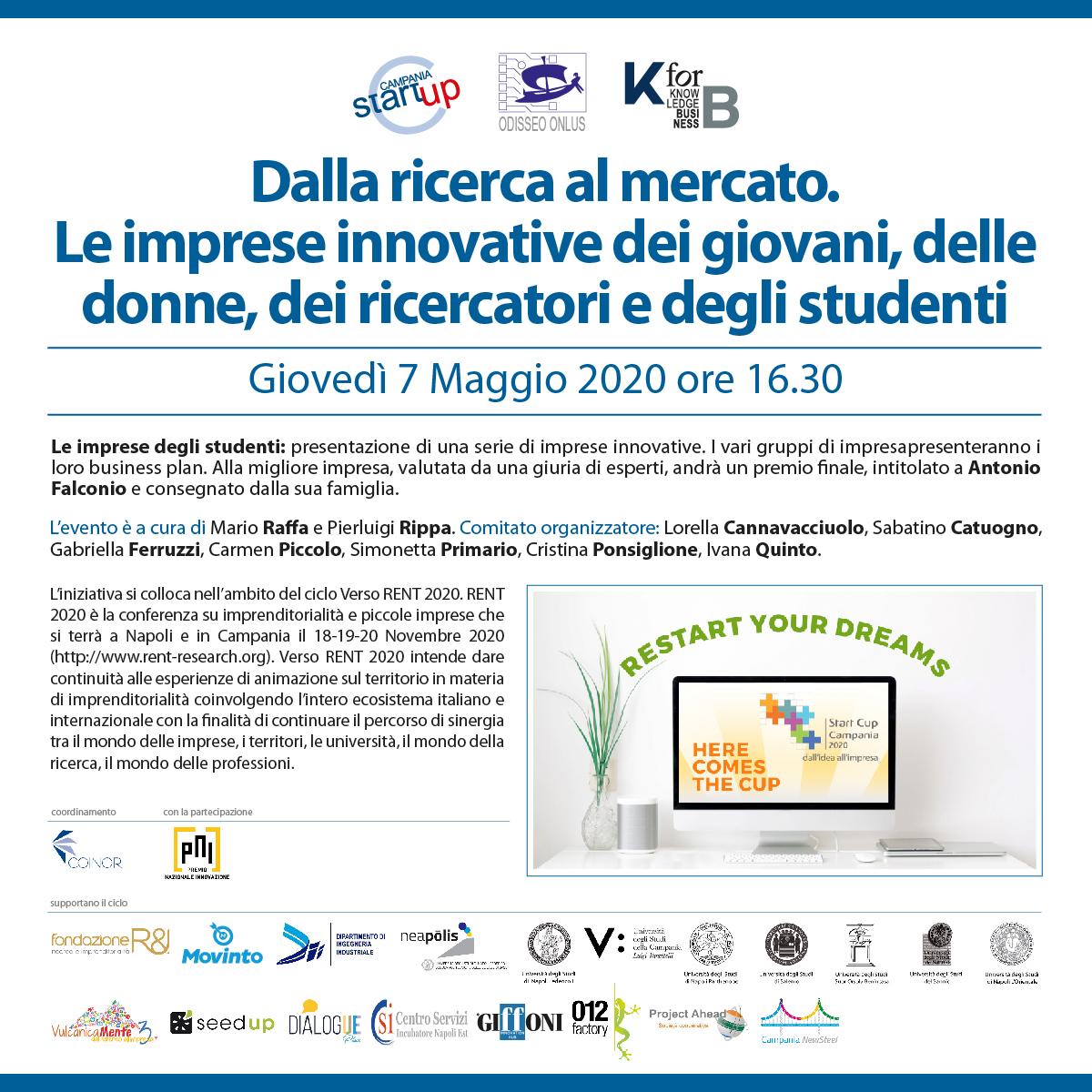 StartCup 7maggio 2020