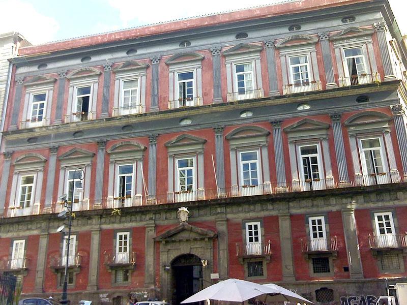 Orientale Palazzo Corigliano Napoli