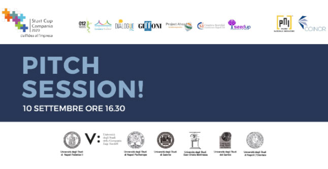 pitch sessione campania startcup 2020