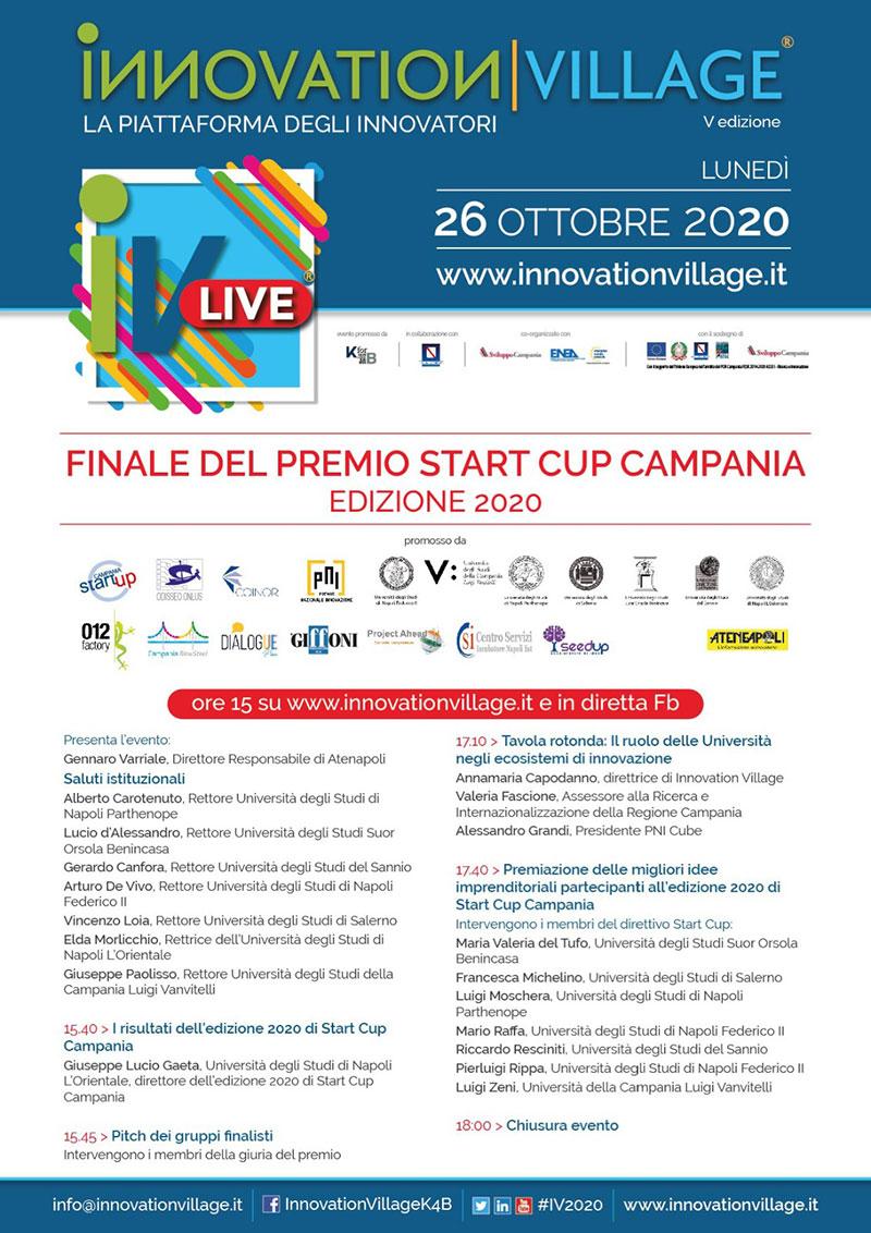 finale start cup campania 2020