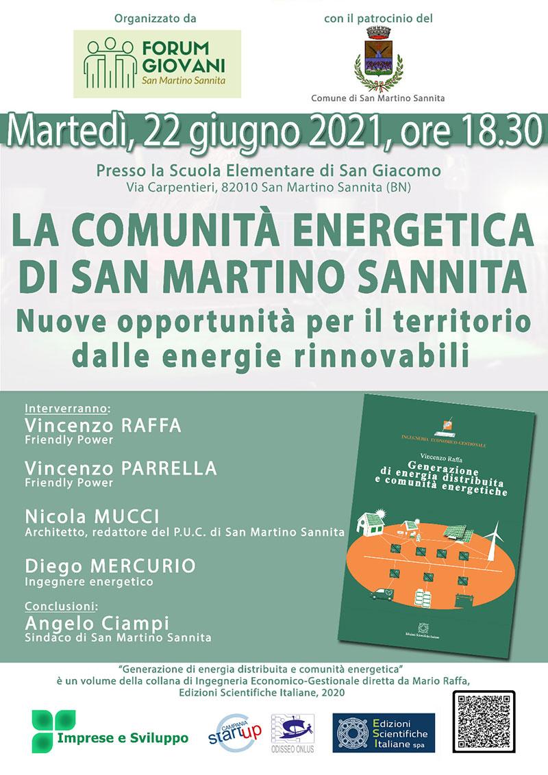 la comunità energetica san-martino sannita 22 giugno 2021