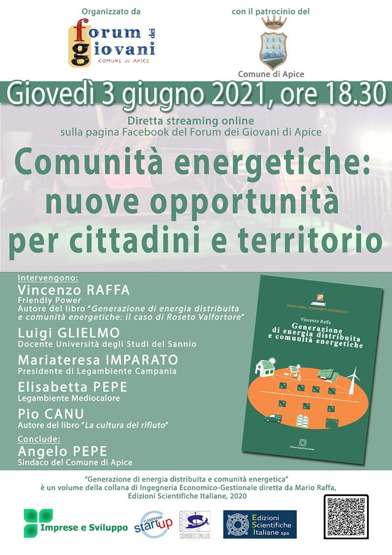le comunita energetiche 3 6 2021